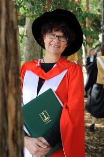 Macquarie University Graduation, with Kate Grenville