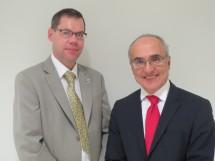 Dr Alex Munnoch and Professor John Boyages.