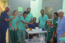 Dr Fiona Foo and the Cardiac Cath lab team at Colonial War Memorial (CWM) Hospital, Suva