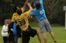 Student Tom Tulett in National Frisbee Championships. Photo: Anson Chun
