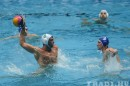 Tyler Martin is competing in the Water Polo World League.