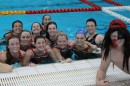 Women's Water Polo Team. Credit: Mia Kwok
