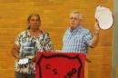 Bob Fuller and Kamilaroi elder, Brenda McBride.