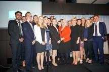 Hon Julie Bishop MP with student delegates
