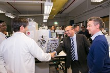 Senator the Hon. Arthur Sinodinos AO toured the ARC Training Centre for Molecular Technology in the Food Industry, located on campus as part of its official launch.