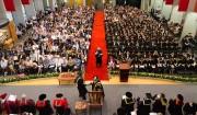 Spring graduation season commences, honorary doctorates awarded