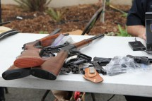 Image credit: Youth Radio (user on Flickr); Image name: Oakland Gun Buyback; Link to licence information: https://creativecommons.org/licenses/by-nc-sa/2.0/