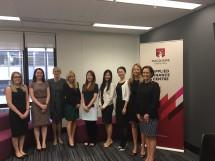 The 2016 Women's Mentoring Program mentors and mentees
