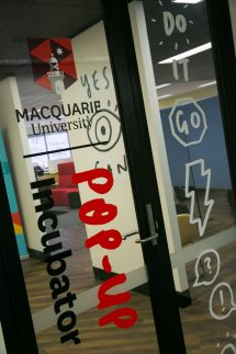 Macquarie University Incubator. Credit: Carmen Lee