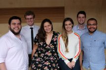 The six Macquarie Students who have completed their first unit at the Sydney School of Entrepreneurship