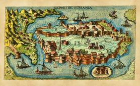Medieval map - Image courtesy of Pixabay