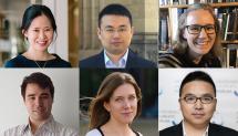 Top row L-R: Dr Yee Lian Chew, DrWenjieRuan, Dr Katrina Hutchison. Bottom row L-R: Dr Lyndon Koens, Dr Francesca Short, Dr Jia Wu.