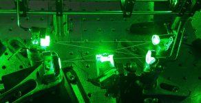 Brillouin diamond laser