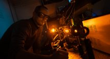Diamond Raman laser. Image by Joanne Stephan