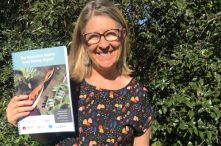 Threatened Species Commissioner Sally Box launching the ANPC's The Australian Native Seed Survey Report.