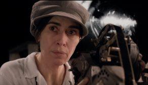 Victoria Haralabidou as Esfir Shub in 'I want to make a film about women'