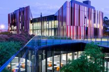 Macquarie University Library. Credit: Chris Stacey