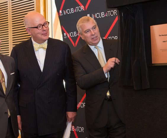 Pitch@Palace and Launch of the Incubator by The Duke of York