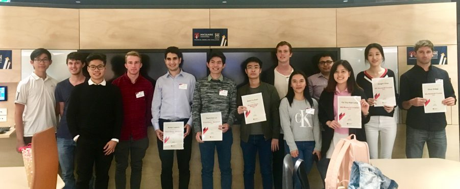 Congratulations to the 15 finalists of Macquarie's inaugural ModelOff competition