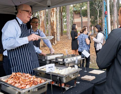 Staff Breakfast with the Vice-Chancellor and Executive Team