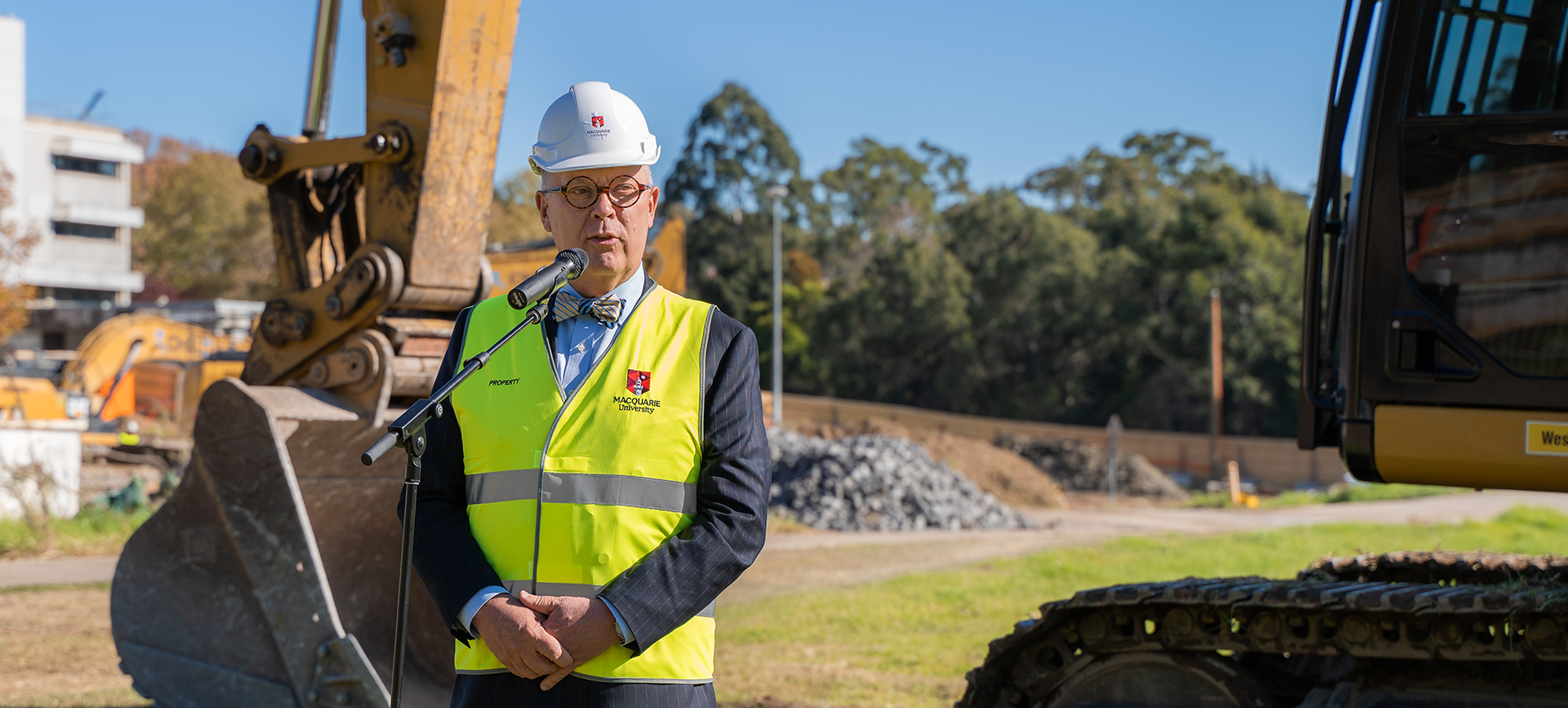 Breaking Ground Central Courtyard Construction Begins This Week At Macquarie University