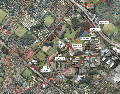 Central Courtyard Site Area Extension For Mars Creek Upgrade This Week At Macquarie University